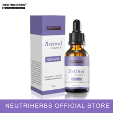 Neutriherbs Retinol Serum Clogs Poros, Anti Acné, Eliminación de cicatrices Best Skin Serum 30ml / PC