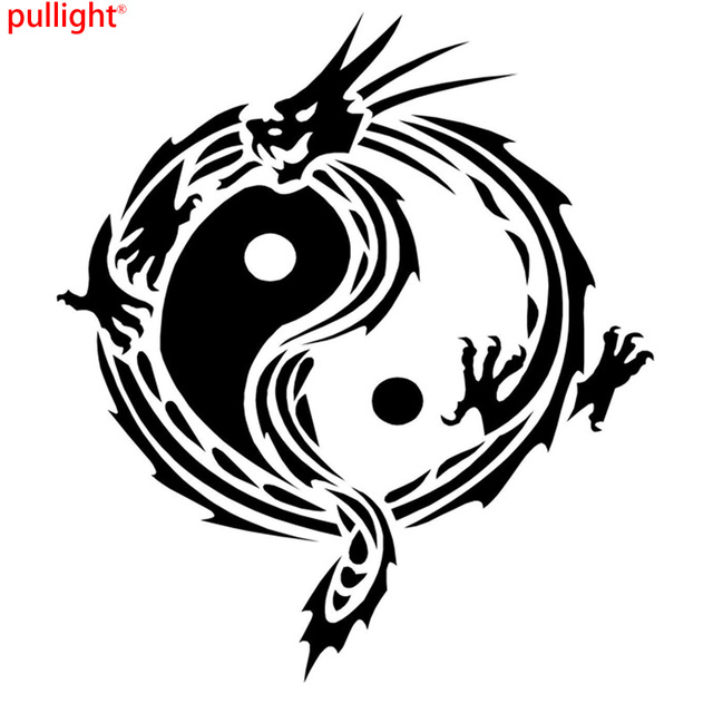 Dragon tattoo design funny vinyl car sticker motorcycle decal