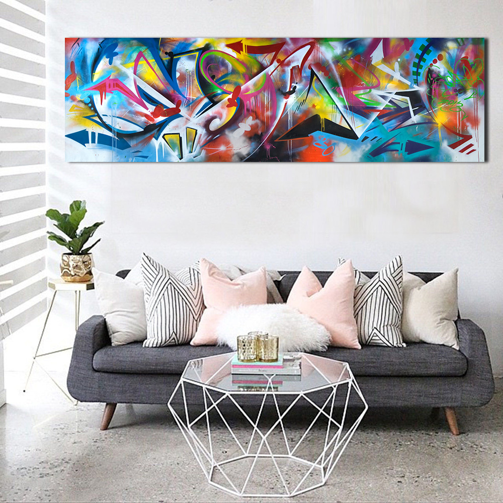 JQHYART Wall Art Oil Paintings Abstract Picture Home Decor Canvas ...