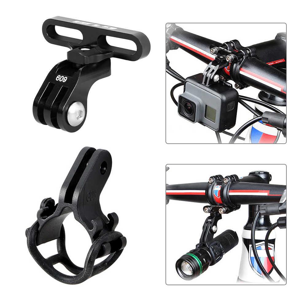 GUB 609 велосипедный вынос руля настенное крепление стойки для занятий спортом Камера держатель для горного велосипеда адаптер крепление для GoPro Камера фонарик