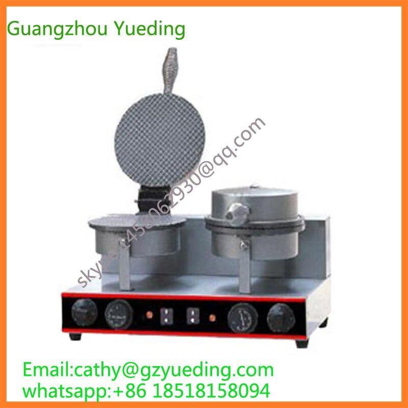 Full Automatic waffle maker machine /mini commercial waffle cone maker|waffle maker machine|automatic waffle maker|waffle maker - title=