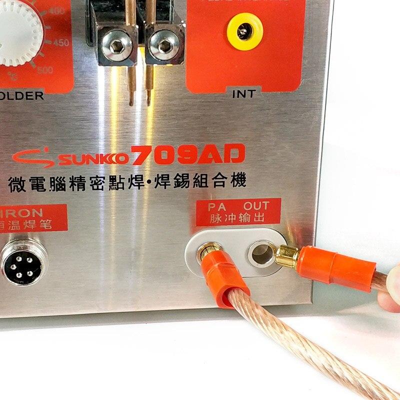 SUNKKO 709AD aukšto impulso suvirintojas 2,2 kW galios - Suvirinimo įranga - Nuotrauka 3