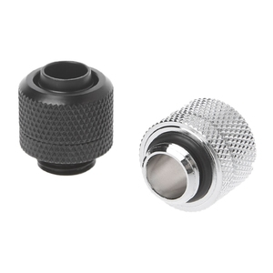 """Image 3 - Computer Water Cooling G1/4 3/8""""ID X 1/2""""OD 9.5x12.7mm Tubing Hand Compression Fittings Water Cooling"""