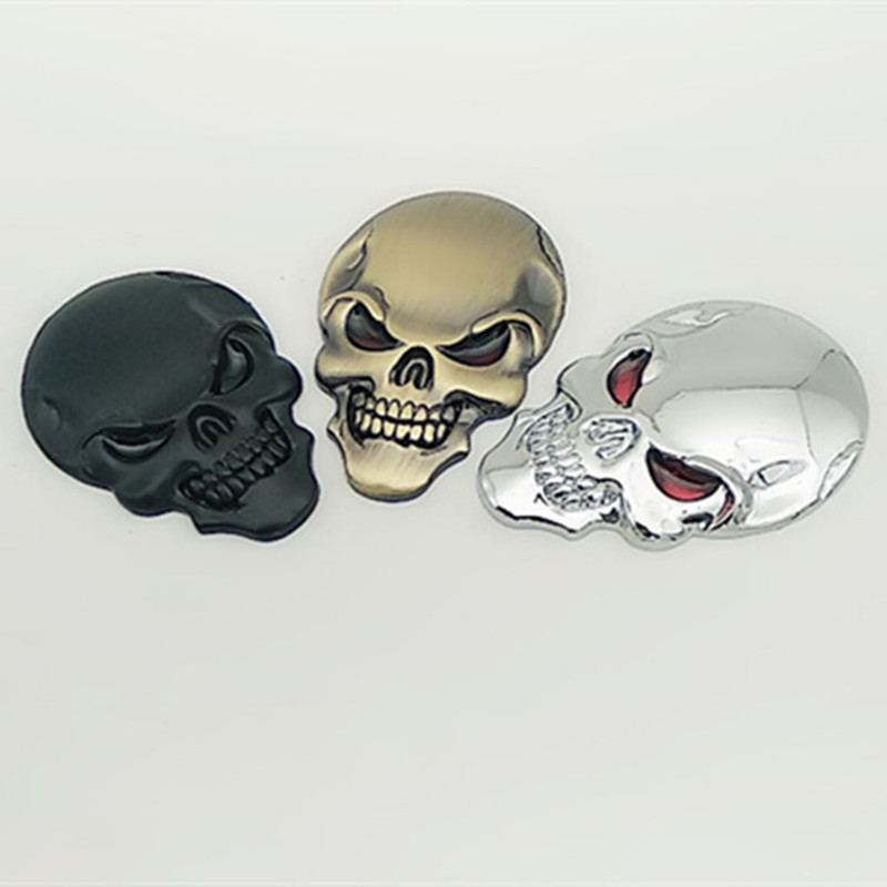 Car skull sticker accessories for peugeot 307 kia sportage <font><b>2017</b></font> peugeot 407 <font><b>audi</b></font> <font><b>a4</b></font> b8 ford focus 2 opel insignia renault golf 4 image