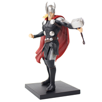 22cm Avengers Thor ARTFX+STATUE 1/10 Scale Pre Painted Model Kit With Hammer Statue PVC Action Figure Collection Model Toy