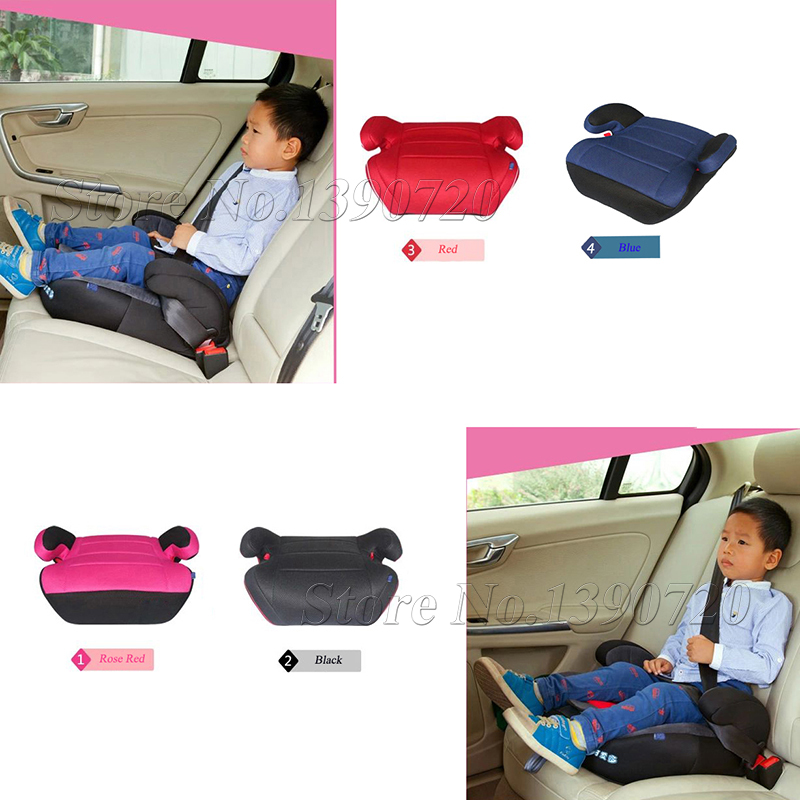 ФОТО safe and environmental car seat heighten pad comfortable and safe backless car seat booster cushion mat for children and kids