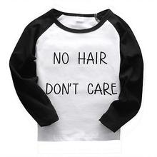 Hot Sale Newborn Infant Toddler Kid Baby Boy Girl Autumn ClothesLong Sleeve Letter T-shirt Top Tee Casual Clothing