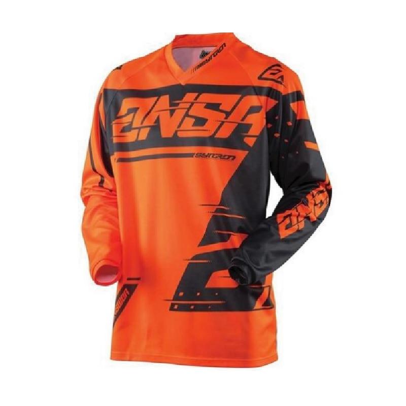 Quick-drying Long Sleeve Jersey Motorcycle Motocross Bike Riding T-Shirt XXS TO 5XL