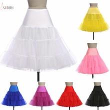 Vintage 50s Bridal Wedding Petticoat Crinoline Short Tulle Skirt Underskirt Jupon Mariage sottogonna Accessories