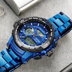 Image 3 - Top Luxury ยี่ห้อ MIZUMS ผู้ชายกันน้ำดิจิตอลกีฬานาฬิกา Mens นาฬิกานาฬิกาข้อมือชายนาฬิกาควอตซ์ Relogio Masculino XFCS