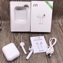 I11 СПЦ Беспроводной стерео наушники вкладыши 1:1 Air pod Bluetooth 5,0 спортивные наушники гарнитуры не i9s i10 i13 для Iphone, Android