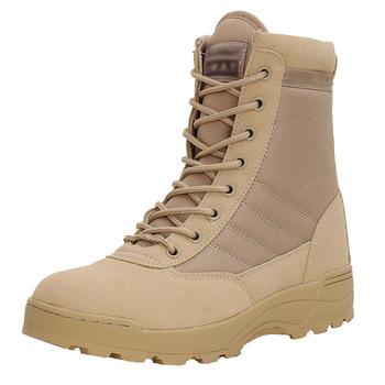 2019 nowy Us wojskowe skórzane buty dla mężczyzn bojowe piechoty buty taktyczne Askeri Bot armia boty buty wojskowe Erkek Ayakkabi tanie i dobre opinie ORVAB buty pustynne Mikrofibra Połowy łydki Sznurowane Stałe Dla osób dorosłych Dobrze pasuje do rozmiaru wybierz swój normalny rozmiar