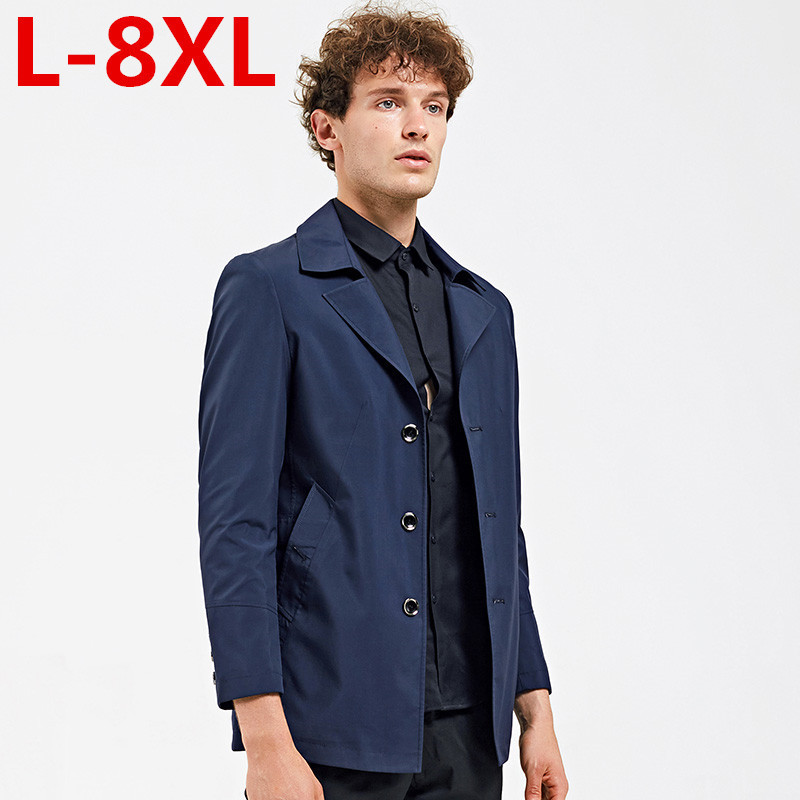 big size Men Blazer Formal Suit Coat Dress Blazer Slim Fit Black blue Jacket Solid Color Coat Business Suit Jacket Male Autumn