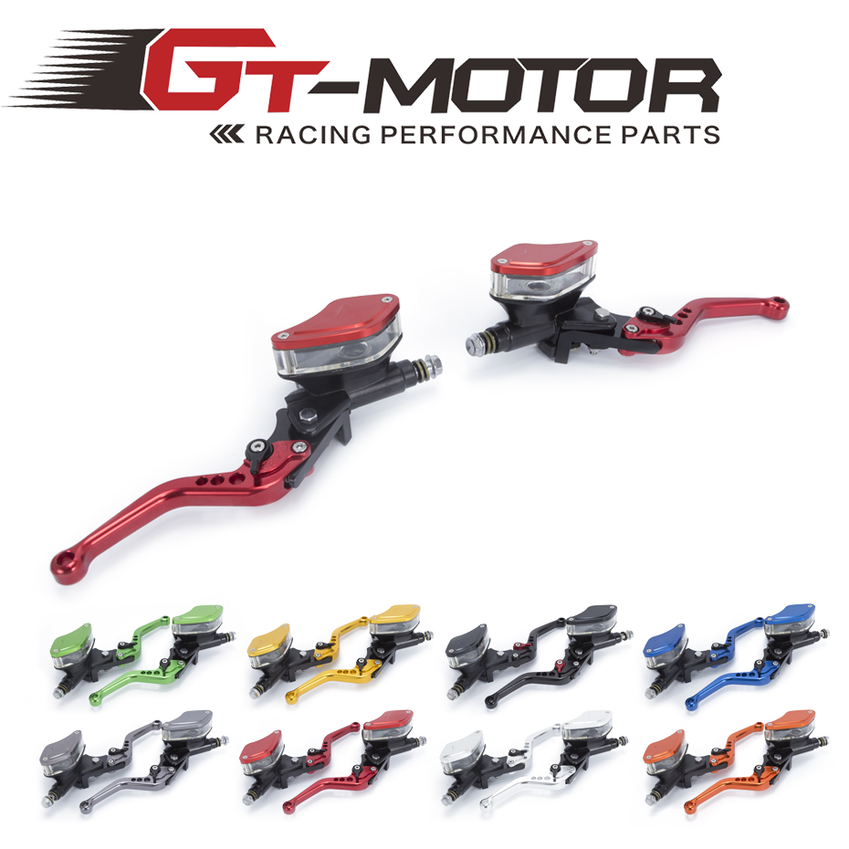 GT Motor - FREE SHIPPING Motorcycle Master Cylinder Reservoir Hydraulic Brake Clutch Lever FOR YAMAHA R3