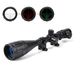 BUSHNELL 6-24X50 AOE Riflescopes Hunting Red Green illuminated Crosshair Reticle Rifle Scope Riflescope Luneta Para Rifle Caza