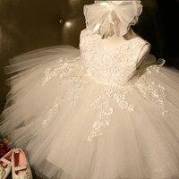 Tutu 1 Year Girl Baby Birthday Dress Kids Baby Clothes First 1st Birthday Christening Tulle Wedding