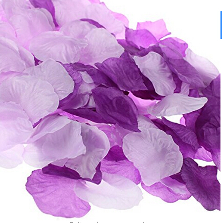 Mixed Purple Lavender Artificial Silk Rose Flower Petals Wedding Table Decoration Confetti Party Favors 1 000 In Dried Flowers From Home
