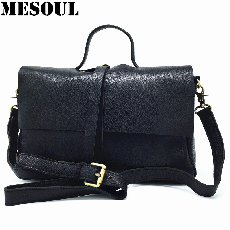 Women Messenger Bags Real Genuine Leather Handbags Female Famous Brand Classic Top-handle Bags High Quality Black Shoulder BagsWomen Messenger Bags Real Genuine Leather Handbags Female Famous Brand Classic Top-handle Bags High Quality Black Shoulder Bags