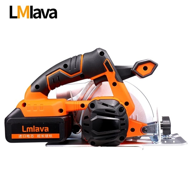 21V Cordless Circular Saw electric power tools with High Capacity  lithium Li-Ion Battery and Charger 1