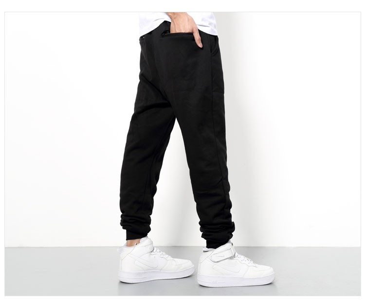 Men Joggers Pants Hip Hop Fashion Sport Skinny Sweatpants Casual Military Jogging Trousers Black beam foot trousers M-4XL (6)