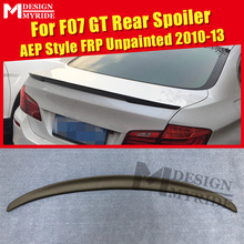 F07 Spoiler rear lip wings FRP Unpainted AEP Style Fits For GT 535i 550i 535iGT 550GT trunk 10-13