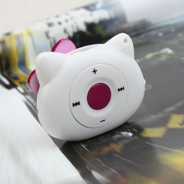 Cute Garfield Selling Mini MP3 Player Sports a Portable Music Player, TF Card Slot (MP3 only) You Can Use a USB Flash Drive
