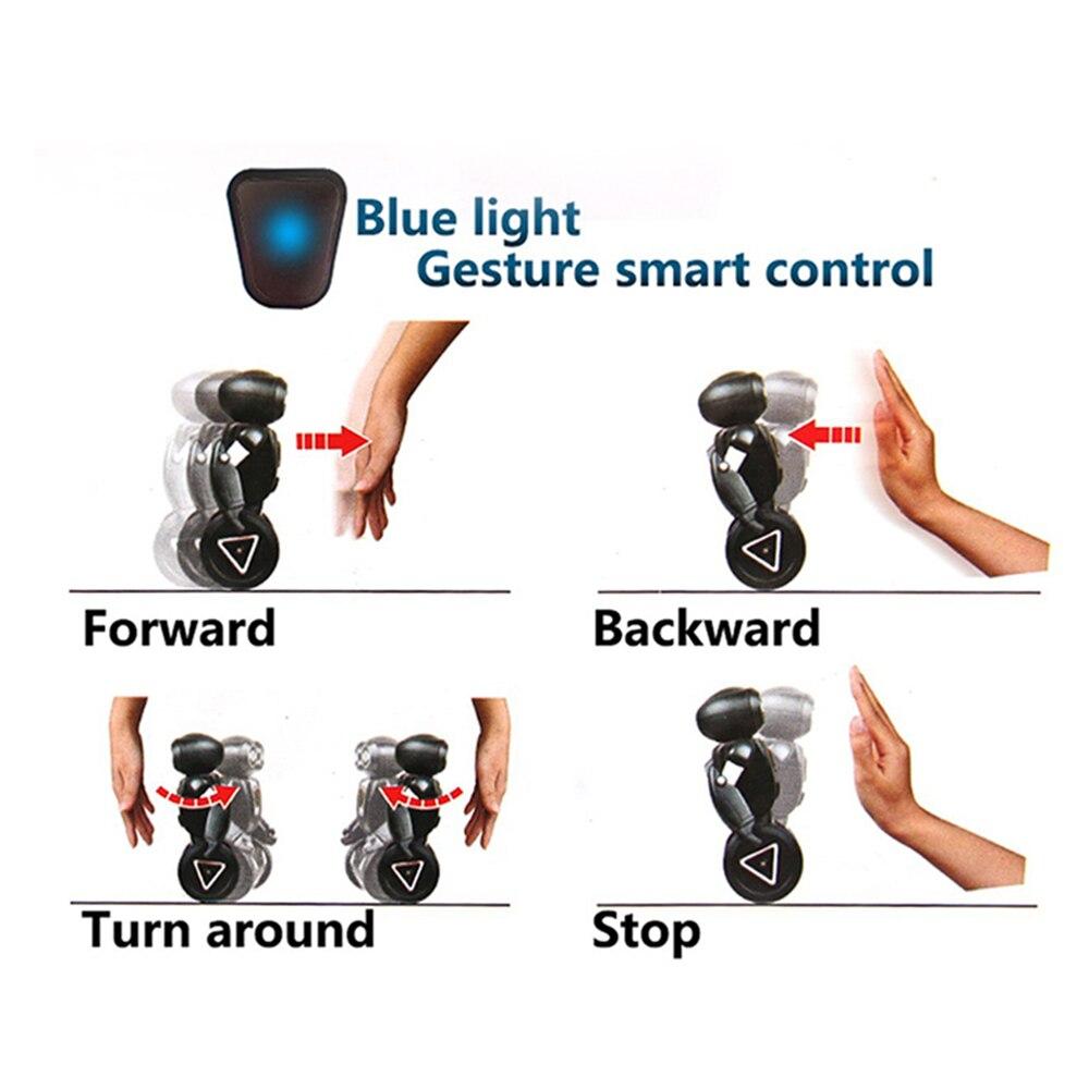 5 Modes de fonctionnement Vocal RC Robot Programmation Intelligente Télécommande Jouets Pour Enfants Enfants Cadeau D'anniversaire Électronique Jouets - 6