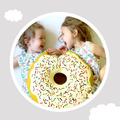 Crianças Travesseiro Da Cama de Bebê Crianças Quarto Decoração Forma de Rosca de Dormir Apaziguar Brinquedos Criança Almofadas almofadas de Enfermagem infantil