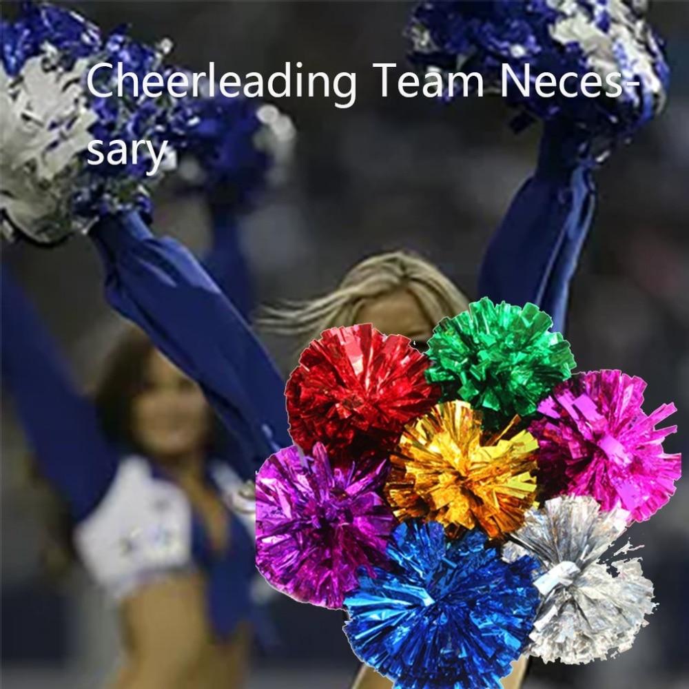 Competition Cheerleading Flower Ball Light Up Party Fancy Pom Poms Modish Cheer Dance Soccer Basketball Tennis Match Sport Flowe