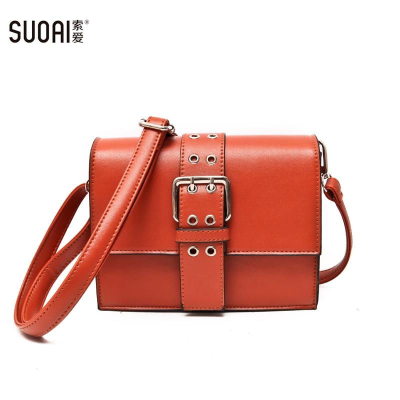 New Preppy Style Women Messenger Bag Fashion Pu Leather Cover Female Shoulder Bags Satchels Long Adjustable Strap