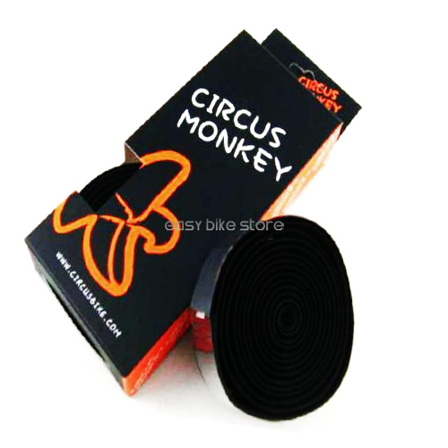Circus Monkey ROAD Handlebar Bar Tape Wrap Bar Black