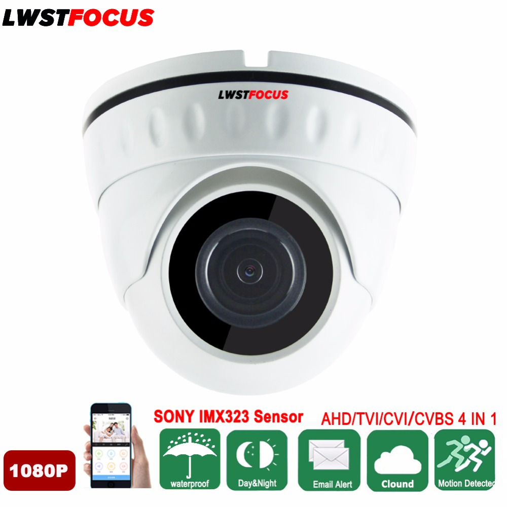 LWSTFOCUS Wide Angle 2.8/3.6MM Anti Vandal AHD CCTV Camera AHDH 1/2.9 SONY IMX323 3000TVL Security AHD Camera 1080P OSD Cable sony imx322 ahd camera ahdh 1080p full hd cctv surveillance security camera osd button