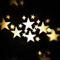 Thrisdar Outdoor Star Christmas Laser Projector Light Snowflakes Landscape Garden Spotlight Waterproof DJ Disco Laser Stage