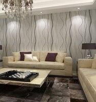 HANMERO QZ0459 3D Geprägte streifen welle wandpapierrolle Wohnzimmer schlafzimmer sofa tv desktop wandbild tapete 3d 0,53*10 mt/rolle