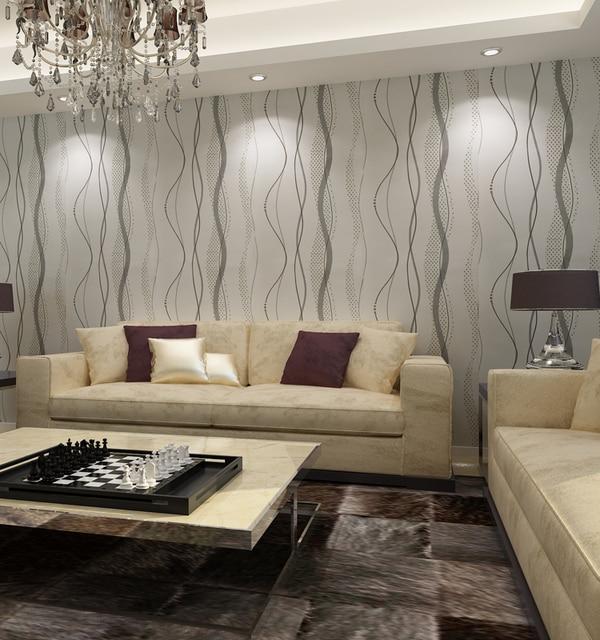 HANMERO QZ0459 3D Geprägte streifen welle wandpapierrolle Wohnzimmer ...