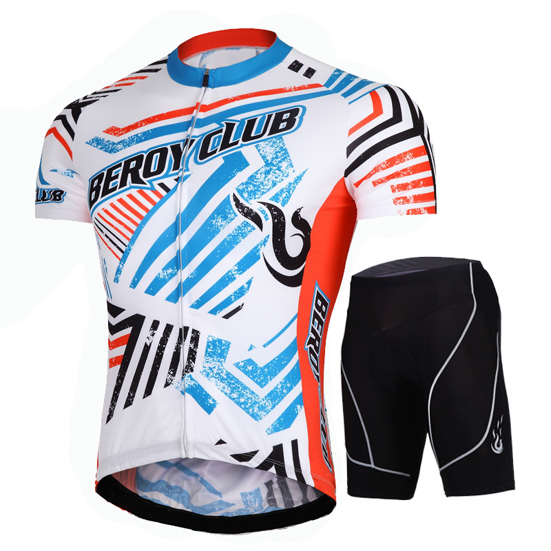 New S-3XL Cycling Jersey Men Cycling suit Breathable sport outdoor clothing Bicycle Wear Shirt Shorts sets cycling jersey set