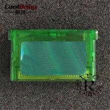 Freeshipping Para O Jogo de GBA Cartucho Card Game Card Firered mon Puxão/Leafgreen/Emerald/Ruby/Sapphire Versão para Game Boy Advance