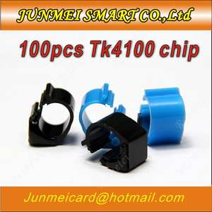 Chip-Card Rfid-Tags TK4100 100pcs Ring-Tag/chicken-Foot Footstags/pigeons Colors 125KHZ