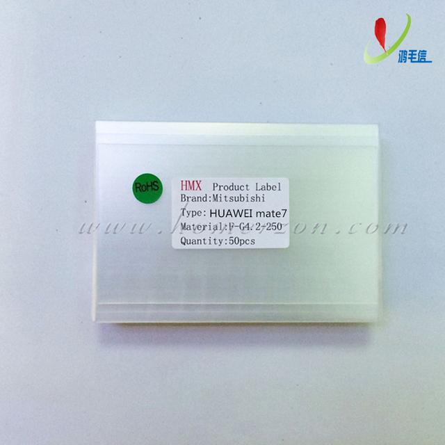 50x 250um OCA óptica clara pegamento adhesivo película pegatina de doble cara para HUAWEI casamata 7 LCD reparación de la pantalla táctil de la máquina laminadora