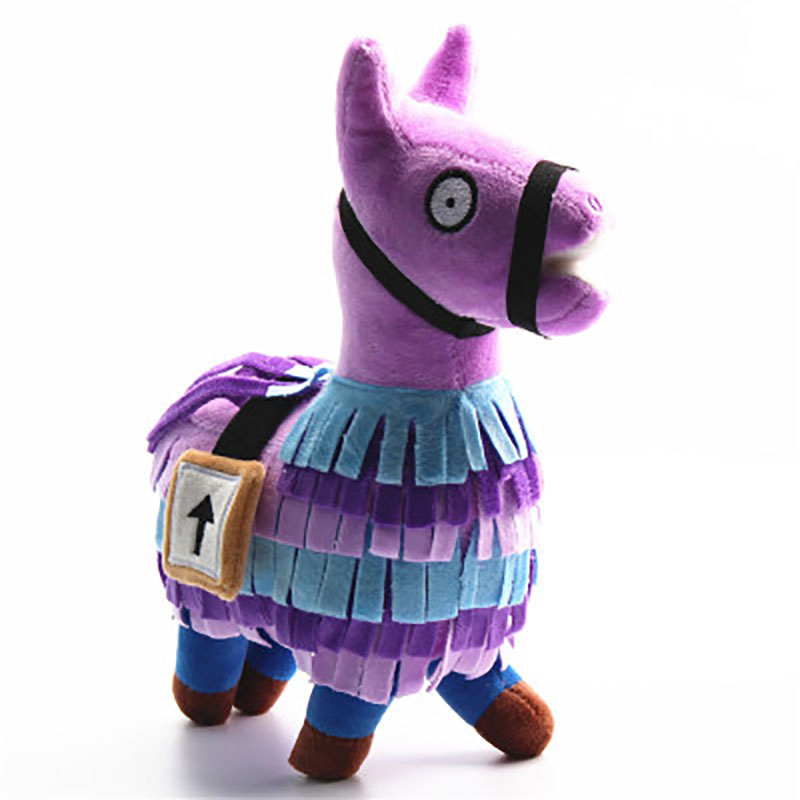 Fornight Troll Stash Llama Plush Toy Game Alpaca Rainbow Horse Toys Cute Stuffed Fortress Night Dolls Kids Gift Christmas Gifts