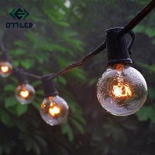 Струны g40 Глобус струнный светильник s с 25 прозрачными bulbs220v