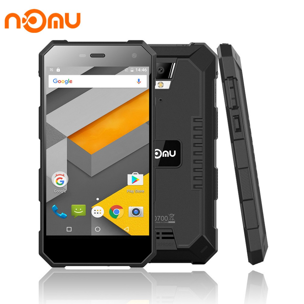 Nomu S10 5 0 inch 1280x720 4G FDD Cellphone Android 6 0 MTK6737T Quad Core 2G