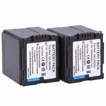 2 шт. VW-VBG260 VW VBG260 VBG130 VBG260 Батарея для Panasonic HDC-HS700 TM700 HS300 TM300 HS250 SD20 HS20 HDC-SDT750 SDR-H40