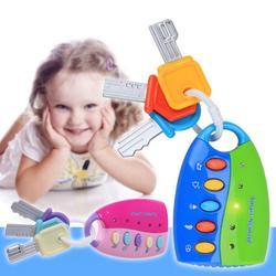 Детские игрушки Музыкальные автомобиля игрушка-ключ Smart Remote автомобилей голоса Притворись играть образование детская игрушка для подарка
