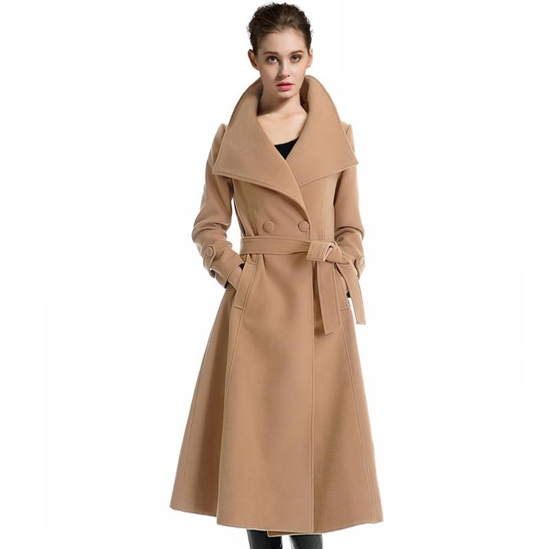 Maxi Wool Coat