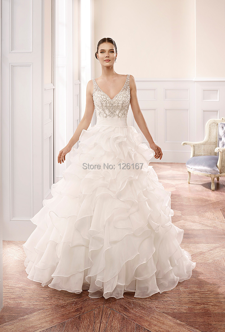 Compare prices on kleinfeld online shopping buy low price for Lace wedding dresses with sleeves kleinfelds