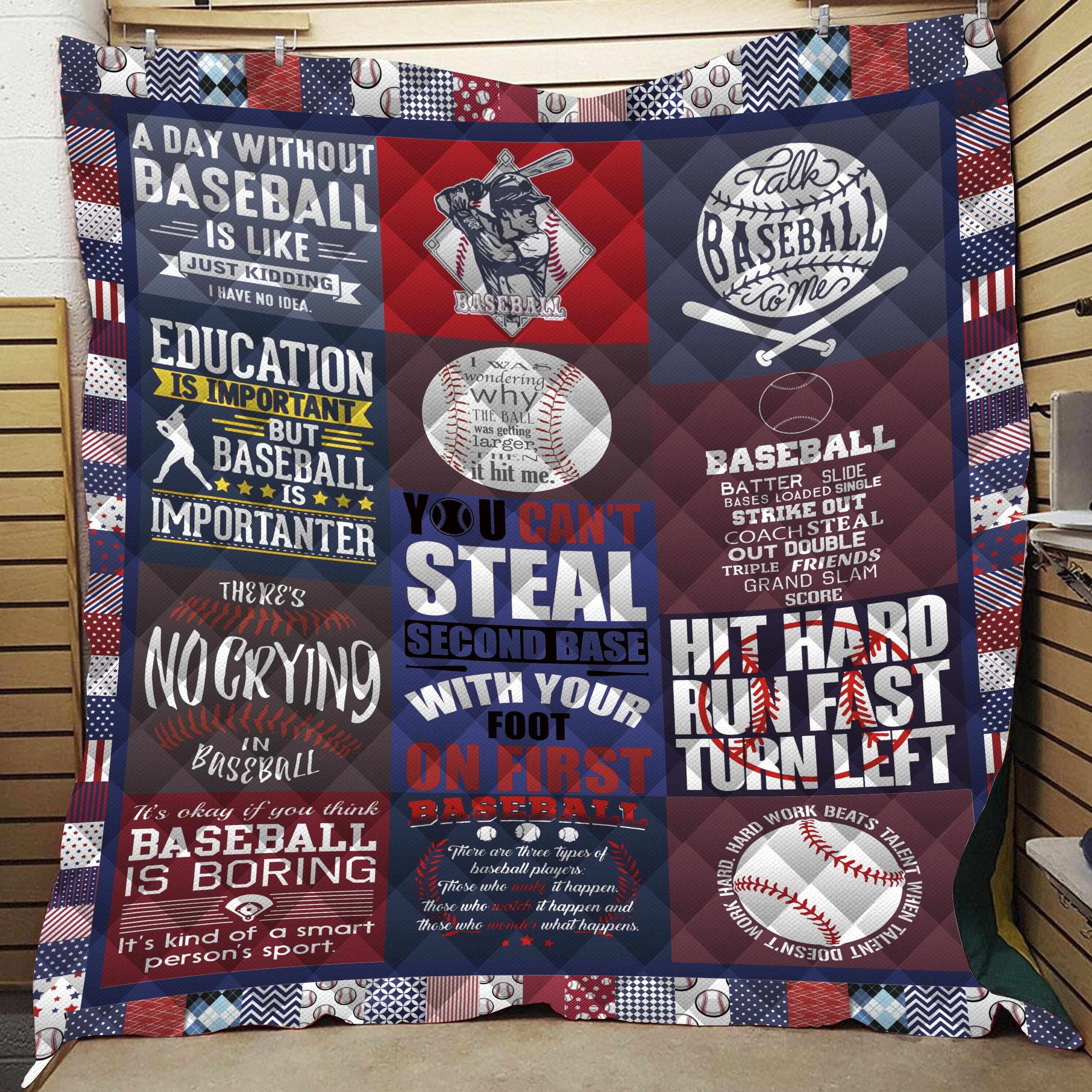 Dropshipping 3D Printed Baseball Sport Quilt Kids Adult Warm Bedding Blanket for Traveling Picnic Beach Trips Home Decor