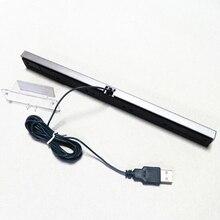 Высокое качество USB контроллер симулятор GamepadsWired инфракрасный ИК-сигнала Рэй Сенсор бар/приемник для wii удаленного