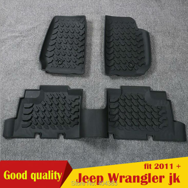 mat ultimat piece floor lloyd wrangler jeep logo with p black front red carpet mats