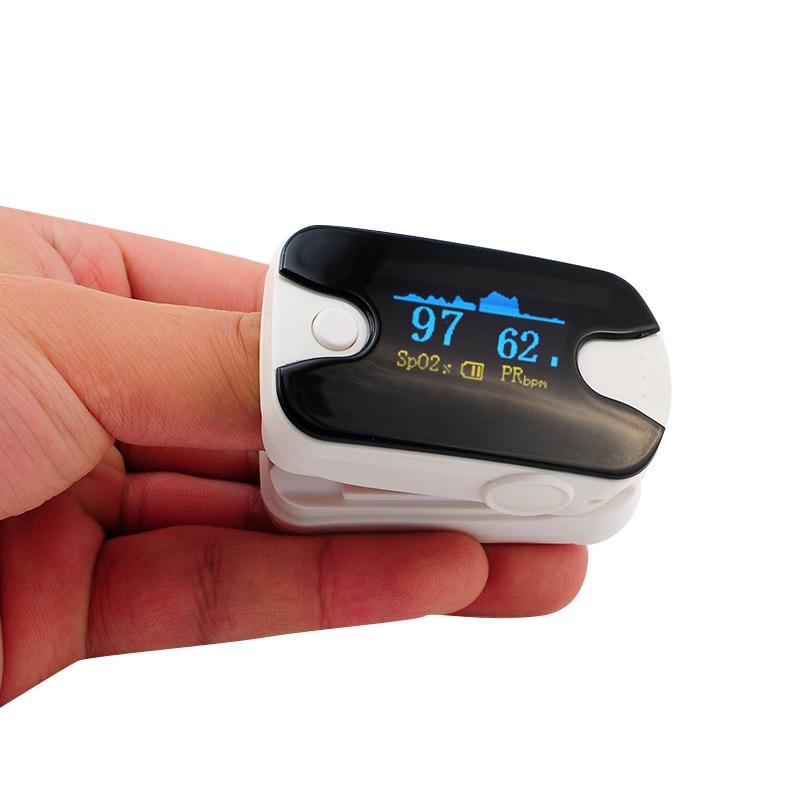 Color White Pulse Oximeter Fingertip Pulse Oximeter Oximetro De Pulso De Dedo SpO2 Saturation Meter Pulse Oximeter CE Approved new finger pulse oximeter accurate oximetro for medical equipment and daily sports fitness pulse rate alarm meter pr spo2 ce